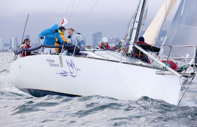 Children of Phoenix sailing crew 2014