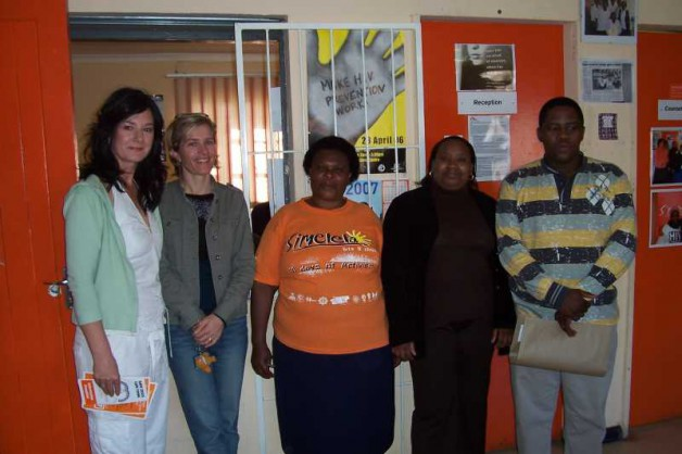 Professor Taylor undertook a special visit to Simelela Khayelitsha, a charity funded rape and sexual assault service the provides care and support to one of the poorest shanty areas of South Africa.  Caroline is pictured with some of the dedicated staff who work at this centre.  While here Caroline met with women and children affected by sexual violence and who have been helped and are continuing to receive help from this centre.