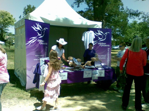 Springfest 2008 – our stall